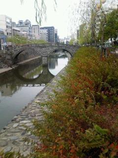長崎は今日は曇りだった